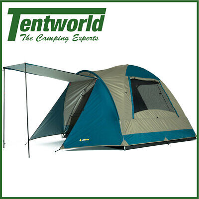 AU99.90 • Buy Oztrail Tasman 4 Person Dome Camping Tent Outdoor Shelter