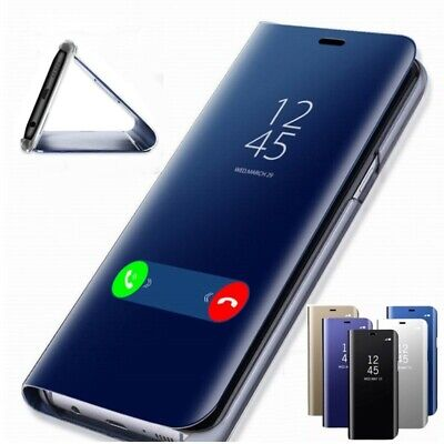 $ CDN9.99 • Buy Samsung Galaxy S9 + S10+  A10 A50 A70 Smart View Mirror Leather Flip Stand Case