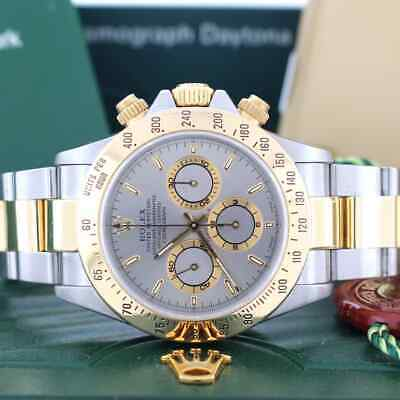 $ CDN19292.12 • Buy Rolex Cosmograph Daytona 40mm 18K Yellow Gold & Stainless Steel Watch 116523