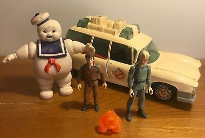 Vintage 1984 Ghostbusters Ecto 1 Car With Figures & Ghost • 55£