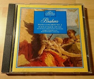 The Great Composers And Their Music Cd 8 Brahms Piano Co No.2 Marshall Cavendish • 2.50£