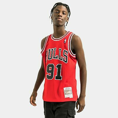 AU179 • Buy Dennis Rodman Chicago Bulls Hardwood Classics Throwback NBA Swingman Jersey