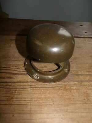 Antique Narrow Boat Solid Bronze Or Brass Mushroom Vent 4 Inch, Marine, Yacht • 65£