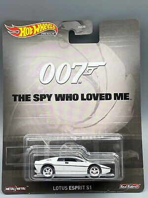 $ CDN10.69 • Buy Hot Wheels Premium ~ Retro 007 The Spy Who Loved Me ~ LOTUS ESPRIT S1 New 2020