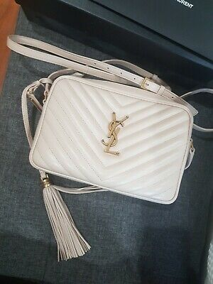 AU1400 • Buy Ysl Camera Lou Quilted Bag
