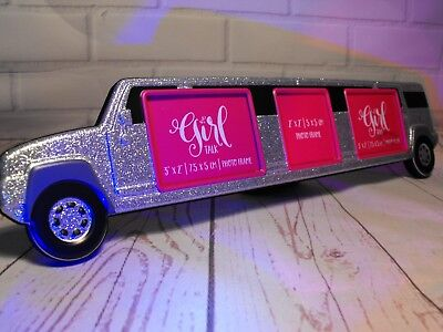 £8.95 • Buy Stretched Limo Photo Frame Prom Night Hen Night Girls Party Night Silver Frame