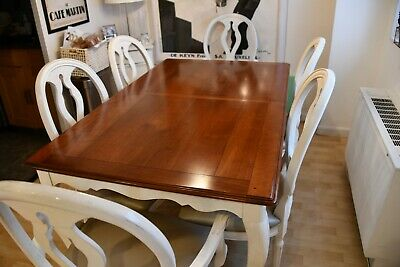 $3200 • Buy Pristine/MINT ETHAN ALLEN Wood Dining Room Table 6 Chairs & One Extension