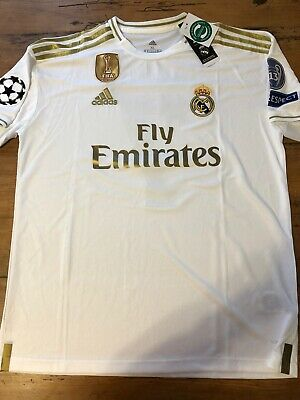 $25 • Buy Eden Hazard Real Madrid Soccer Team New Men's Home White Soccer Jersey - Size XL
