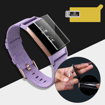 $ CDN5.09 • Buy JW_ ALS_ For Fitbit Charge 2/3 3Pcs Precise TPU Explosion-proof Full Screen Pr
