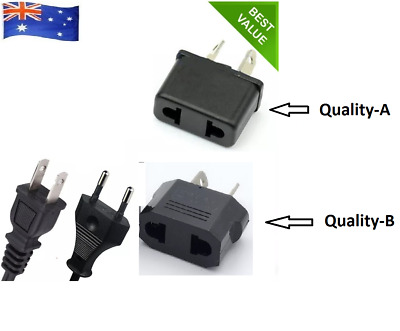 AU2.49 • Buy USA US EU JAPAN ASIA To AU Australia Plug AC Power Adapter Travel Converter