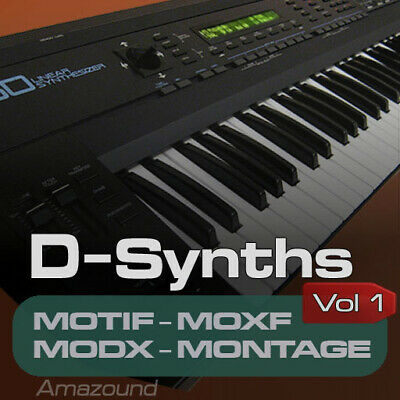£17.95 • Buy D50 SAMPLES For YAMAHA MOTIF ES XS XF MOXF MODX MONTAGE KEYMAPS READY TO PLAY