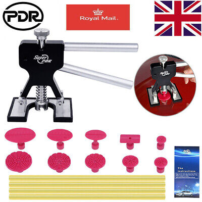 16x Paintless Car Dent Puller Lifter PDR Tools Glue Pulling Tabs Sticks Removal • 17.14£