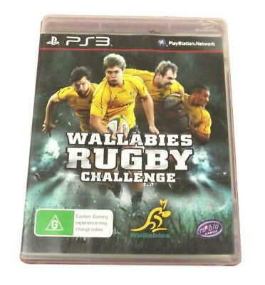 AU12.90 • Buy Wallabies Rugby Challenge Sony PS3
