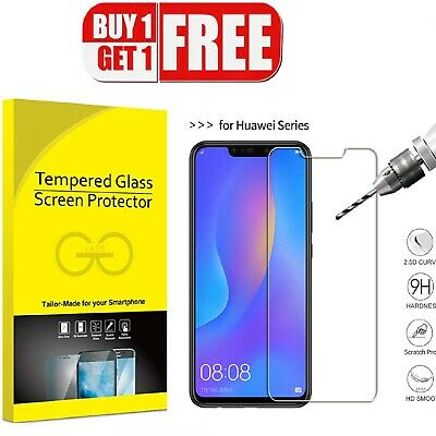 For Huawei P Smart 2019 P20 Pro P30 Lite Premium-tempered Glass Screen Protector • 2.85£