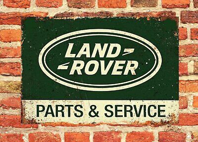 Land Rover Vintage Look Large 12  X 8  Tin Sign Man-Cave • 9.99£
