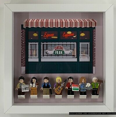 $34.74 • Buy Display Case Frame For Lego Ideas Friends Central Perk 21319 No Figures 25cm