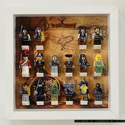 £24.99 • Buy Display Case Frame For Lego Pirates Of The Caribbean Minifigures No Figures 25cm