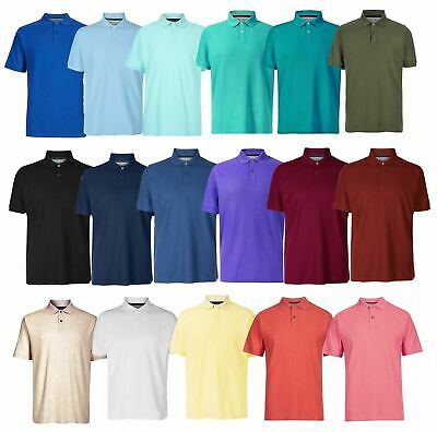 Marks And Spencer Mens Cotton Pique Polo Shirt NEW Sizes S - 3XL • 9.95£