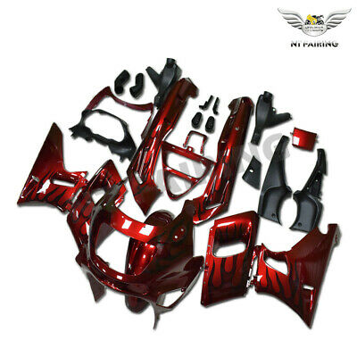 $349.99 • Buy Plastic Fairing Fit For Kawasaki 1993-2007 ZZR400 1998-2003 ZZR600 Red ABS K05t