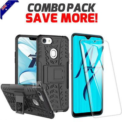 AU8.99 • Buy Shockproof Heavy Duty Case Kickstand Cover For Oppo AX5S AX5 AX7 A3S A57 A73