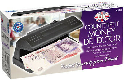 £8.49 • Buy UV Ultraviolet Counterfeit Money Detector Detects Watermarks Security Markings