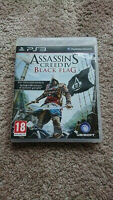 Assassins Creed Black Flag Exclusive Edition Ps3 • 1.99£