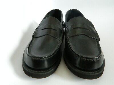 New Rockport Mens Black Leather Upper Penny Loafers Size 9 • 32.19£
