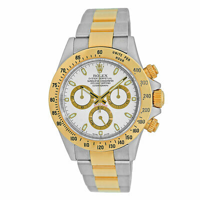 $ CDN21316.43 • Buy ROLEX 18K Yellow Gold Stainless  40mm Daytona Cosmograph 116523 Box MINTY 2015