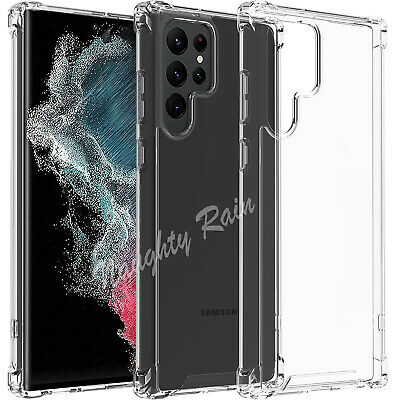 AU2.25 • Buy For Samsung Galaxy S20+ S20 FE Ultra S10 S9 S8 Plus Clear Case Heavy Duty Cover