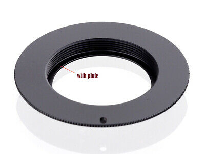 $5.23 • Buy M42 Lens To Canon EOS FLANGED Adapter For Canon Camera EF Mount - UK SELLER