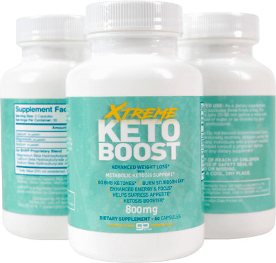 $32.99 • Buy Xtreme Keto Boost - BHB And 800MG Proprietary Blend -60 Capsules - 1 Month Suppl