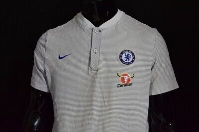 The Blues 2017-2018 NIKE Chelsea FC Shirt Football Jersey SIZE L (adults) • 25£