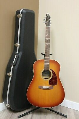 $372.86 • Buy Seagull Entourage Rustic QI Acoustic Electric Guitar W/ Hard Case