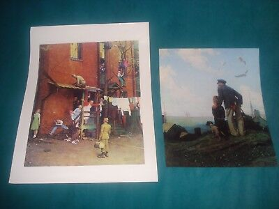 $ CDN31.14 • Buy Norman Rockwell Book 50 Favorites Large Poster Size Prints Suitable For Framing