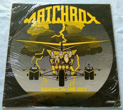 RARE ROCKABILLY RNR LP Matchbox Riders In The Sky MINT SEALED COPY Rockhouse • 4£