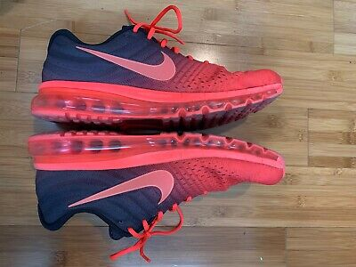 $75 • Buy Nike Air Max 2017 Red Size 13