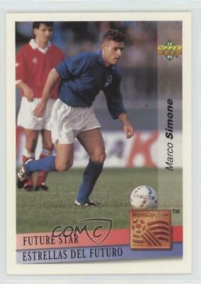 £4.36 • Buy 1993 Upper Deck World Cup 94 Preview English/Spanish Future Stars Marco Simone