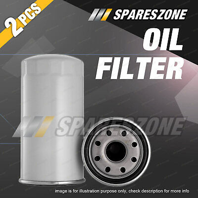 AU33.95 • Buy 2x Oil Filters For Holden Colorado RC Jackaroo UBS73 Rodeo RARefer Z600