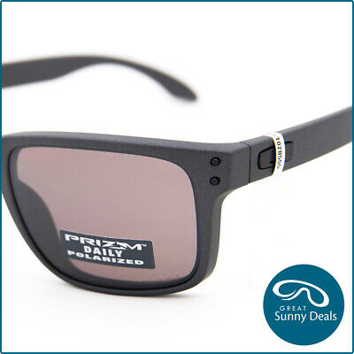 AU199.95 • Buy NEW Oakley Holbrook Polarised Matte Steel Prizm Daily (9102-B5) Sunglasses