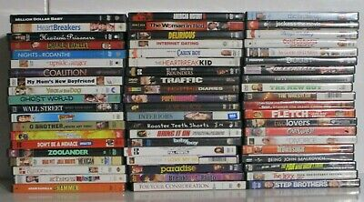 $ CDN33.14 • Buy Wholesale Lot Of 60 Assorted **Comedy & Drama** DVDs & DVDs Movies