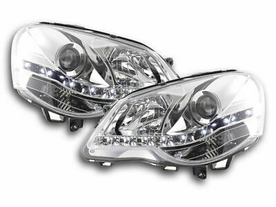 AU624.96 • Buy Vw Polo 9n3 Clear Projector Drl Headlights Daytime Running Lights 2005-2009