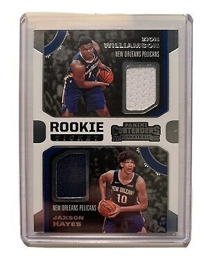 $39.99 • Buy 2019-20 Contenders Rookie Ticket Jersey Zion Williamson Jaxson Hayes #RDW-ZJ RC