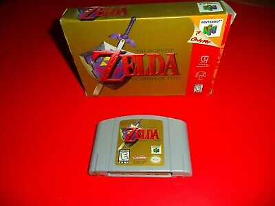 $54.95 • Buy The Legend Of Zelda: Ocarina Of Time For Nintendo 64 N64 With Box *no Manual*