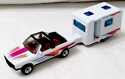 $36.99 • Buy Matchbox Trailers TP-123 BMW 323i Cabroilet 1985 And Caravan Camper 1977.