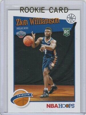 $2.25 • Buy ZION WILLIAMSON ROOKIE CARD New Orleans Pelicans #1 NBA DRAFT PICK Hoops $$ RC!