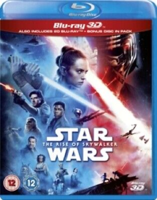 AU58.95 • Buy Star Wars The Rise Of Skywalker (Daisy Ridley) New 3D + 2D Region B Blu-ray