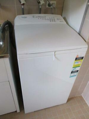 AU70 • Buy Fisher & Paykel Mw513 White 5.5kg Top Loading Washing Machine Rrp $699 Vgc