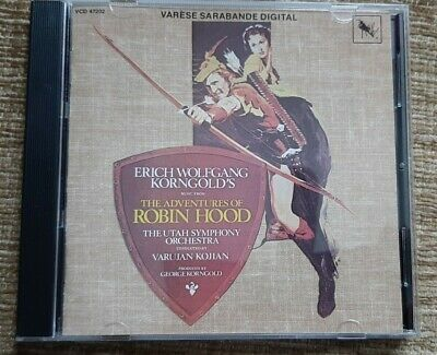 The Adventures Of Robin Hood Cd Soundtrack - Korngold - Varese  • 17.99£