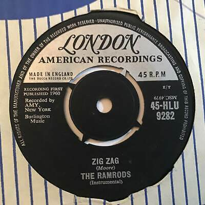 THE RAMRODS Riders In The Sky London UK 1960  Pop 7  • 3.99£
