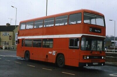 Potteries MT ECW Leyland Olympian A746 JRE  Original Bus Slide • 1.50£